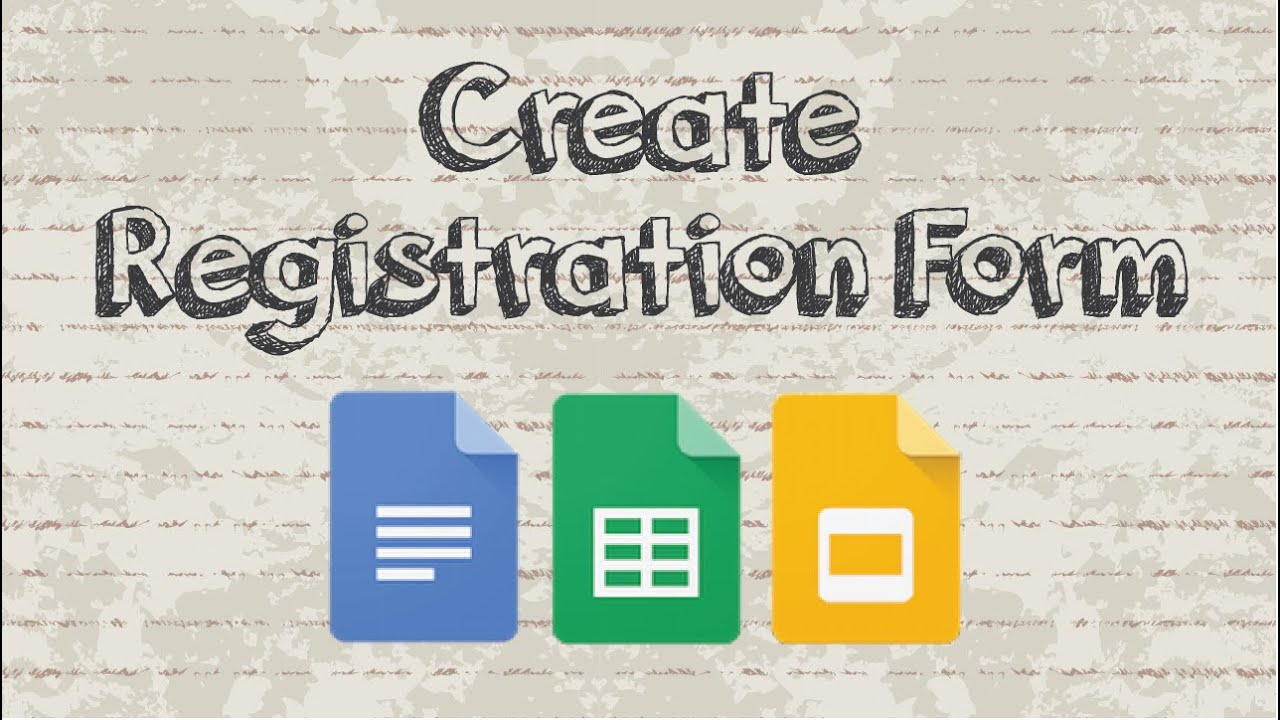 how to make an application on google docs