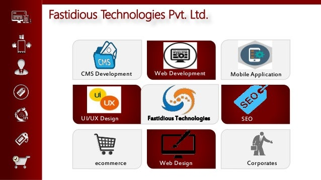 technologies used for web application development