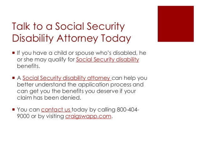social security disability application process