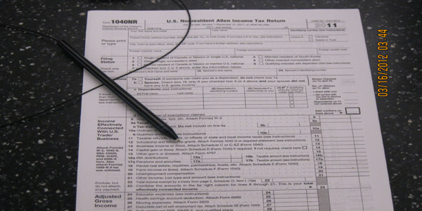 tax file application for students